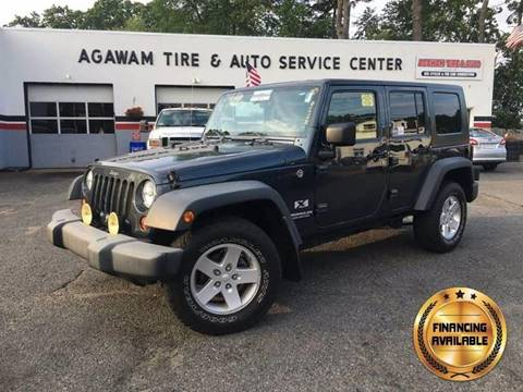2008 Jeep Wrangler Unlimited for sale at Agawam Tire Home of ATA Performance in Feeding Hills MA