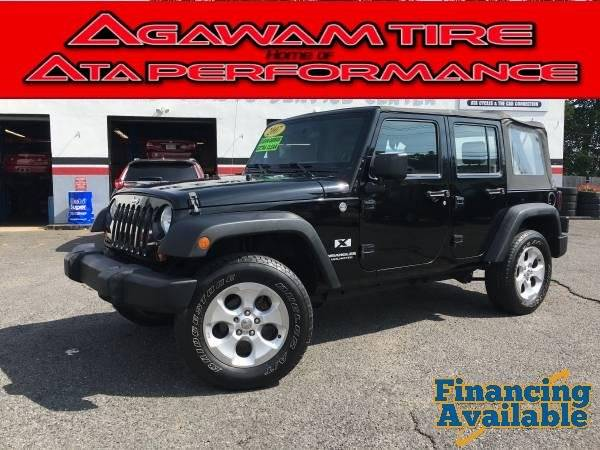 2007 Jeep Wrangler Unlimited for sale at Agawam Tire Home of ATA Performance in Feeding Hills MA