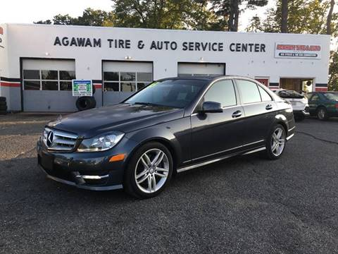 2013 Mercedes-Benz C-Class for sale at Agawam Tire Home of ATA Performance in Feeding Hills MA