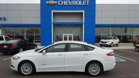 2014 Ford Fusion Hybrid for sale in Morris, MN
