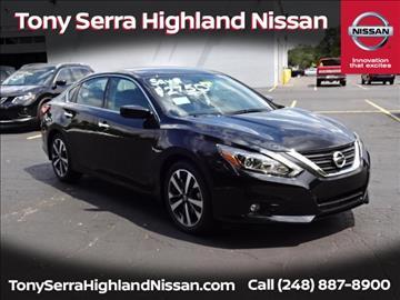 2016 Nissan Altima for sale in Highland, MI