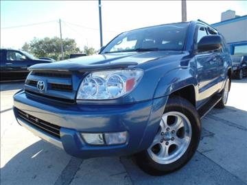2003 Toyota 4Runner for sale in Jacksonville, FL
