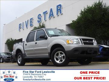 2004 Ford Explorer Sport Trac for sale in Lewisville, TX