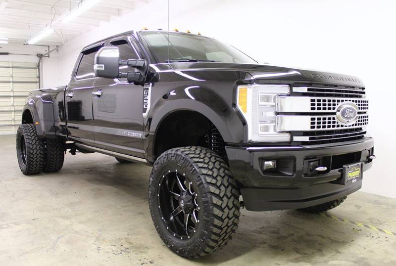 2017 ford f 350 super duty 4x4 platinum 4dr crew cab 8 ft lb drw pickup in portland or fusion. Black Bedroom Furniture Sets. Home Design Ideas