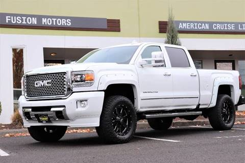 2016 GMC Sierra 3500HD for sale in Portland, OR