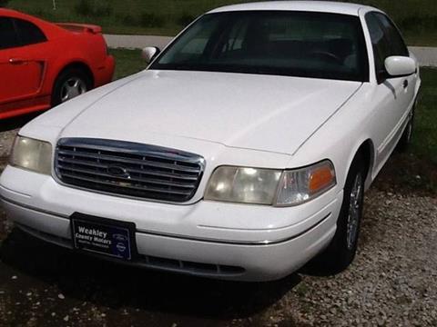 2002 Ford Crown Victoria for sale in Martin, TN