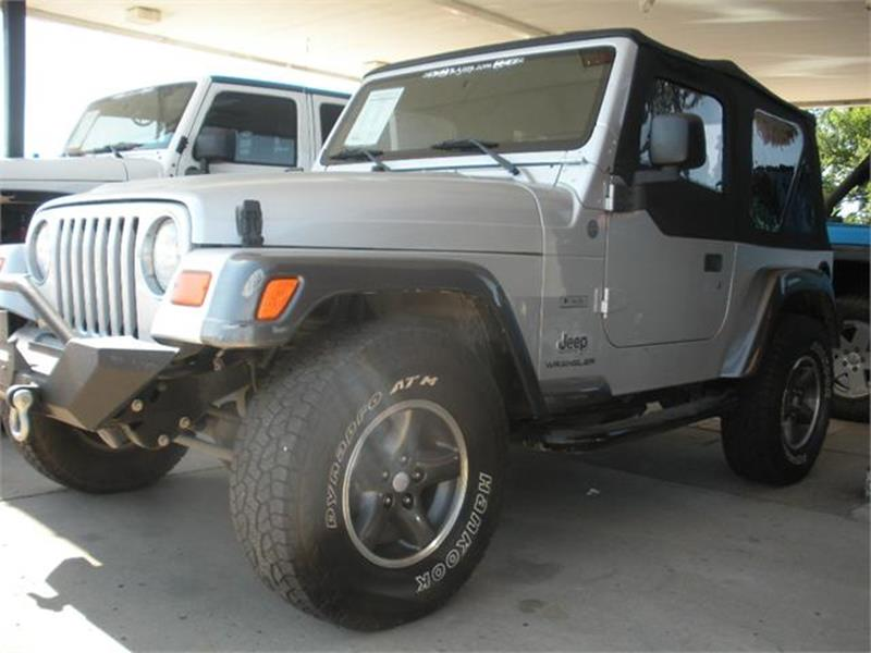 2004 Jeep Wrangler For Sale At Broken Arrow Motor Co In Broken Arrow OK