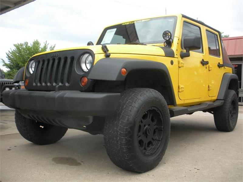 2008 Jeep Wrangler Unlimited For Sale At Broken Arrow Motor Co In Broken  Arrow OK