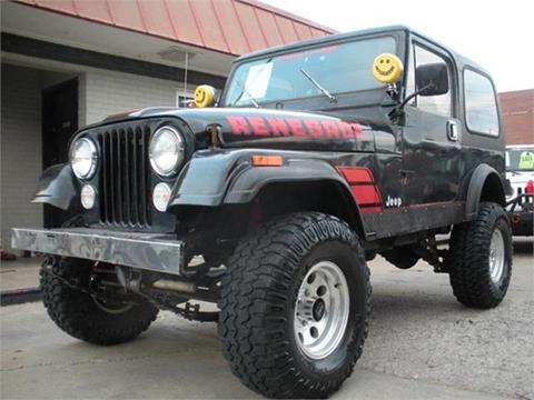 1983 Jeep CJ-7 for sale in Broken Arrow, OK