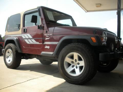 2001 Jeep Wrangler for sale in Broken Arrow, OK