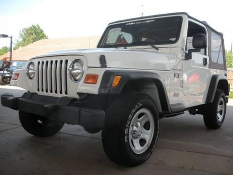 2002 Jeep Wrangler for sale in Broken Arrow, OK