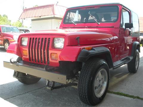 1992 Jeep Wrangler For Sale