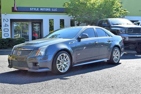 2010 Cadillac Cts V For Sale In Houston Tx Carsforsale Com