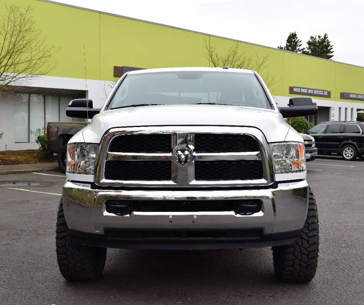 Toyota Dealer Quad Cities: 2016 Ram Ram Pickup 3500 4x4 SLT 4dr Crew Cab 8 Ft. LB
