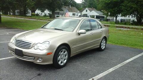 2005 Mercedes-Benz C-Class for sale at A-1 Motors in Virginia Beach VA