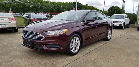 2017 Ford Fusion for sale at A-1 Motors in Virginia Beach VA
