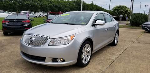2012 Buick LaCrosse for sale at A-1 Motors in Virginia Beach VA
