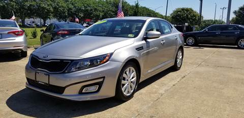 2015 Kia Optima for sale at A-1 Motors in Virginia Beach VA