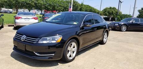 2012 Volkswagen Passat for sale at A-1 Motors in Virginia Beach VA
