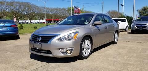 2015 Nissan Altima for sale at A-1 Motors in Virginia Beach VA