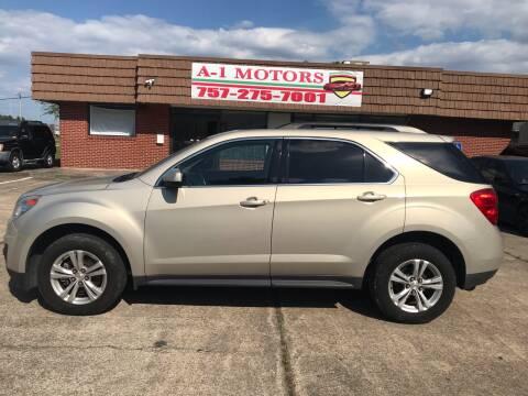 2010 Chevrolet Equinox for sale at A-1 Motors in Virginia Beach VA