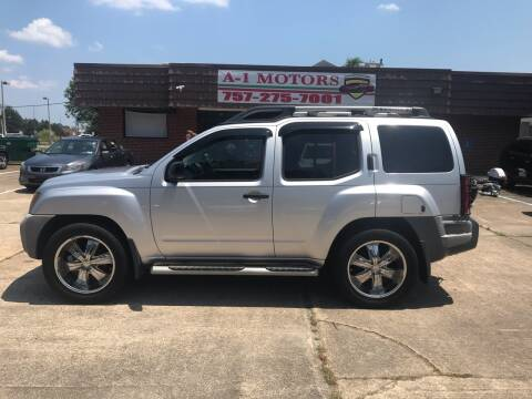 2009 Nissan Xterra for sale at A-1 Motors in Virginia Beach VA