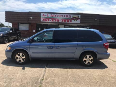 2007 Dodge Grand Caravan for sale at A-1 Motors in Virginia Beach VA