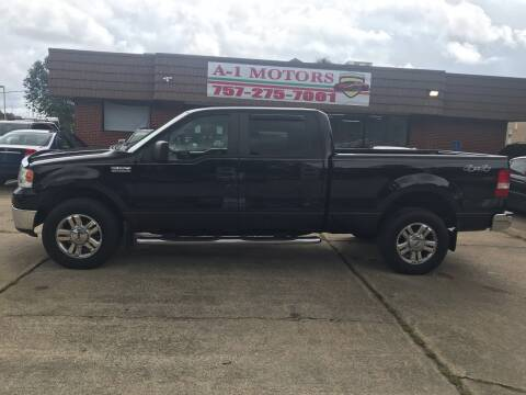 2008 Ford F-150 for sale at A-1 Motors in Virginia Beach VA