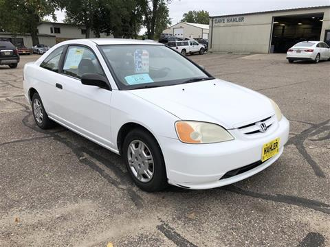 2001 Honda Civic for sale in Webster, SD