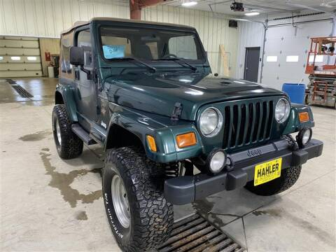 2001 Jeep Wrangler for sale in Webster, SD