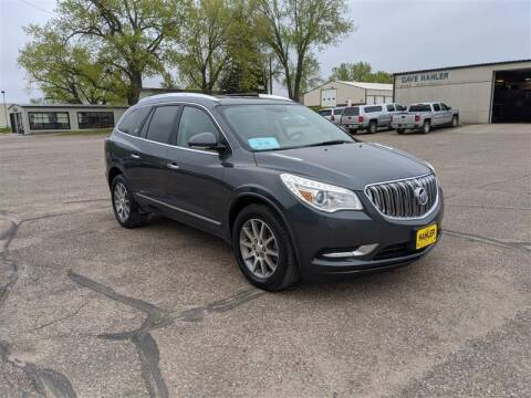 2013 Buick Enclave Leather for sale at Dave Hahler Automotive in Webster SD