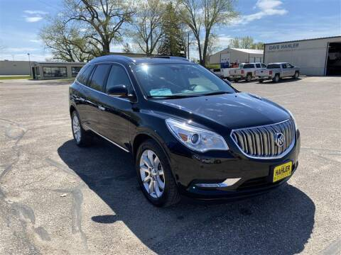 2017 Buick Enclave Premium for sale at Dave Hahler Automotive in Webster SD