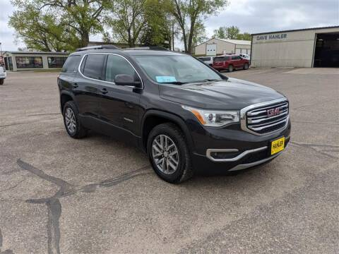2017 GMC Acadia SLE-2 for sale at Dave Hahler Automotive in Webster SD