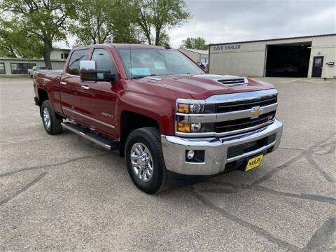 2019 Chevrolet Silverado 2500HD for sale at Dave Hahler Automotive in Webster SD
