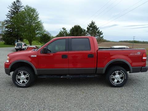 2004 Ford F-150 for sale at AutoWorx Sales in Columbia City IN