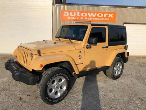 2013 Jeep Wrangler for sale in Columbia City, IN
