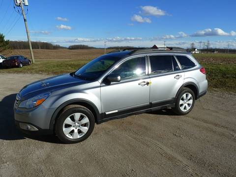 2010 Subaru Outback for sale at AutoWorx Sales in Columbia City IN