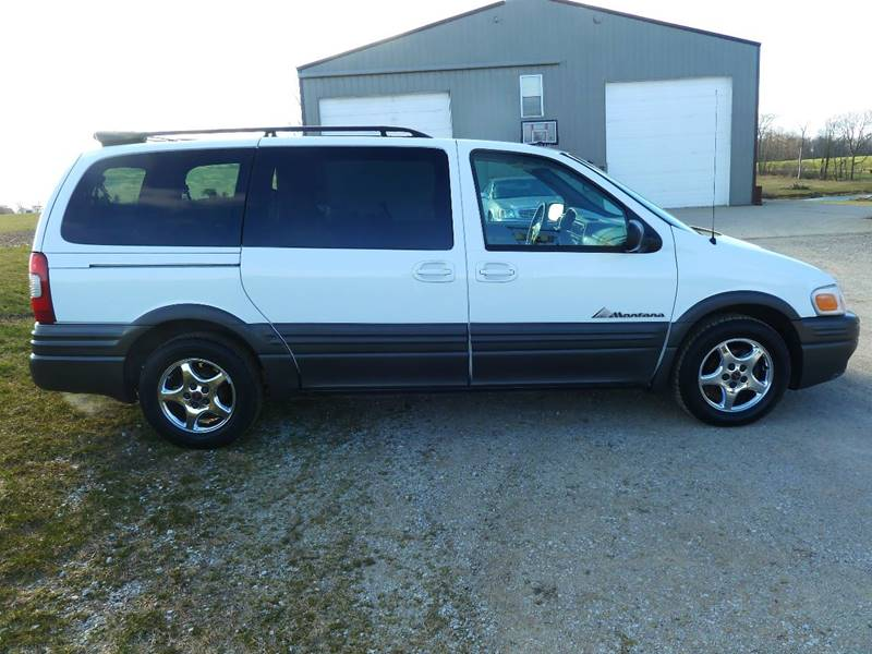 2004 Pontiac Montana for sale at AutoWorx Sales in Columbia City IN