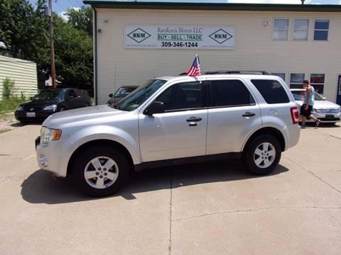 2010 Ford Escape for sale at RamKnick Motors LLC in Pekin IL