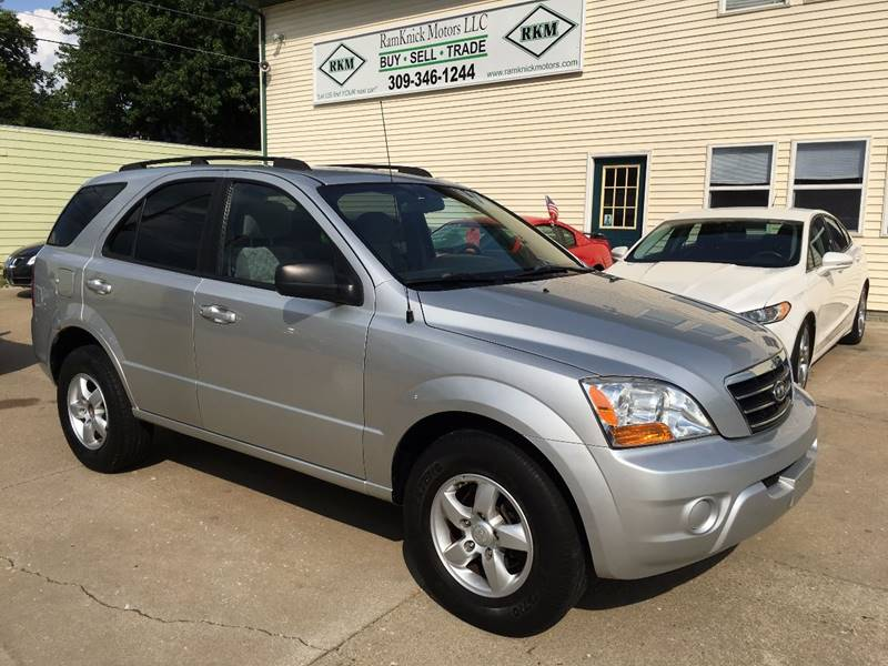 2008 Kia Sorento for sale at RamKnick Motors LLC in Pekin IL