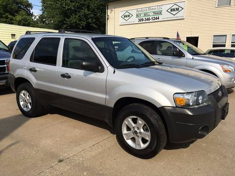 2005 Ford Escape for sale at RamKnick Motors LLC in Pekin IL