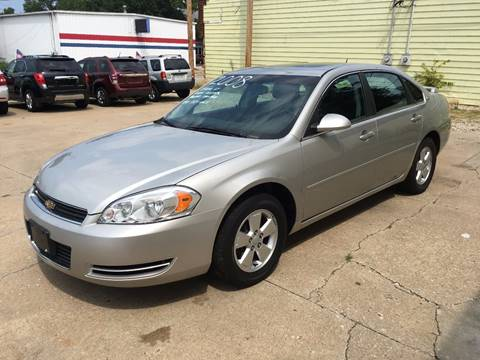 2008 Chevrolet Impala for sale at RamKnick Motors LLC in Pekin IL