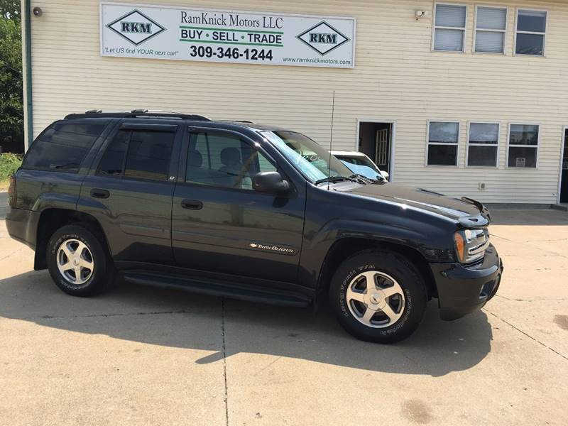 2003 Chevrolet TrailBlazer for sale at RamKnick Motors LLC in Pekin IL