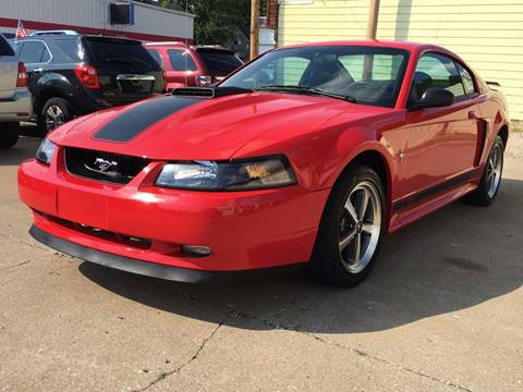 2003 Ford Mustang for sale at RamKnick Motors LLC in Pekin IL