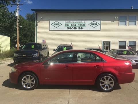 2008 Lincoln MKZ for sale at RamKnick Motors LLC in Pekin IL