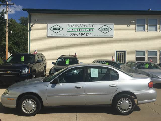 2003 Chevrolet Malibu for sale at RamKnick Motors LLC in Pekin IL