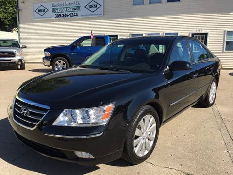 2010 Hyundai Sonata for sale at RamKnick Motors LLC in Pekin IL