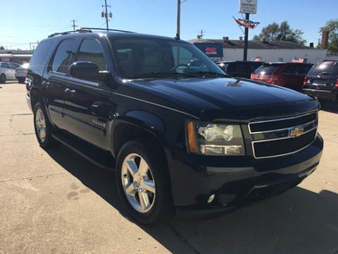 2007 Chevrolet Tahoe for sale at RamKnick Motors LLC in Pekin IL