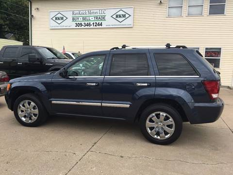 2010 Jeep Grand Cherokee for sale at RamKnick Motors LLC in Pekin IL