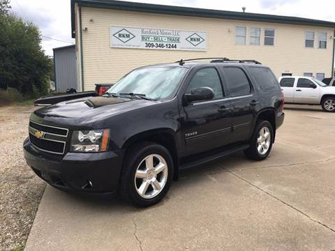 2012 Chevrolet Tahoe for sale at RamKnick Motors LLC in Pekin IL